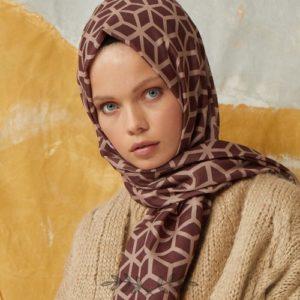 01-meryemce-esarp-online-shop-fresh-scarfs-petek-desenli-sal-aci-kahve1
